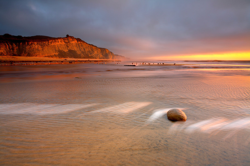 San Gregorio Light - San Mateo County, California
